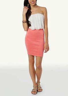 c04da4c6f70 image of Blousant Body Con Mini Going Out Dresses