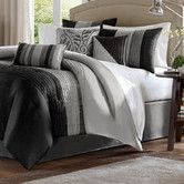 Found it at AllModern - Madison Park Amherst 7 Piece Comforter Set  *** Phil's least favourites