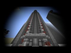 Minecraft Tutorial: Elegant, Fast & SMP friendly Slimeblock-Piston Elevator - YouTube