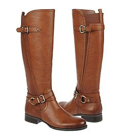 Naturalizer Juletta Wide-Calf Boots. I'd like to get a new pair of brown boots since mine aren't that comfortable and are wearing out in the toe.