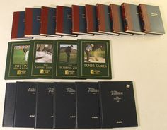Lot of (20) Books with Sports Classics, PGA Tour & The Tradition including (8) Signed by Authors Jim Brosnan, Robert Creamer, Lawrence Ritter  (PA LOA)
