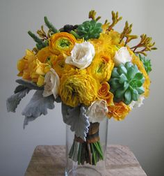 thingiesilike:    succulent bouquet IV