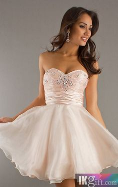 af2ce0c9e1 Empire Sweetheart Tull and Beading Short Prom Dress - HomeComing Dresses -  Special Occasion Dresses - Wedding   Events