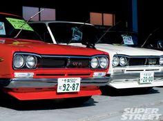 1971 Nissan Skyline Red Gtr