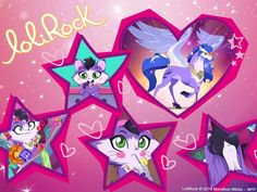 8 Best Lolirock Images Lolirock Mephisto Magical Girl