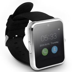 "Own one original Haier smart V1 Iron 1.54"" LCD touch screen MTK2502 bluetooth 4.0 #smartwatch, get infinite fashion and convenient. http://www.tomtop.cc/aQRrqm"