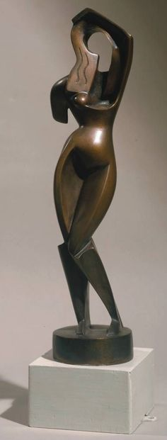 Alexander Achipenko (1887-1964) Femme se peignant