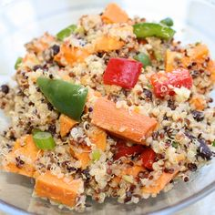 Colorful blend of our three ancient grains combined with colorful vegetables tossed in coconut oil.