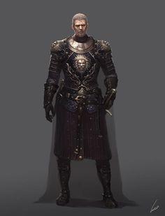 m Paladin Plate Armor Cloak Sword urban City undercity underdark d&d RPG Dark Fantasy, Fantasy Armor, Medieval Fantasy, Fantasy Male, Fantasy Wizard, Dungeons And Dragons Characters, Dnd Characters, Fantasy Characters, Fantasy Character Design