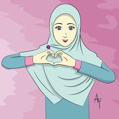 Hijab by ayhumaeni.deviantart.com on @DeviantArt