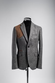 Grantham Shooting Jacket, as seen on the red carpet at the Django Unchained Premiere