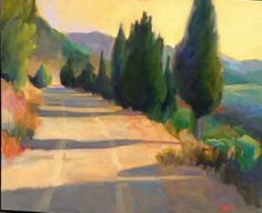 The 'Silk Route', an ancient bandit mule trail used to transport silk from Competa to Granada in Spains Andalucian province. Experience it on our Secrets of Andalucia Walk tour. http://www.breakaway-adventures.com/guided-walking-tours/spain/secrets-of-andalucia.html Oil painting by the incomparable Tammy Papa http://www.tammypapa.com/tammypapa