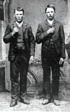 """Jesse & Frank James. 1872. Progeny of William James, believed to have been born in 1754 in Pembrokeshire, Wales. Originally settling lands in Montgomery County, Pennsylvania later moving to Virginia - Quoted from """"Jesse and Frank James: The Family History"""" by Philip W. Steele"""