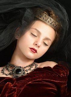 Little princess sleeping