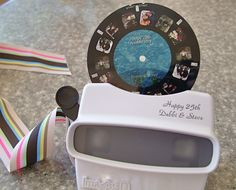 Personalized Viewmaster!! (Great idea for weddings, birthdays, retirements or anniversary celebrations!)