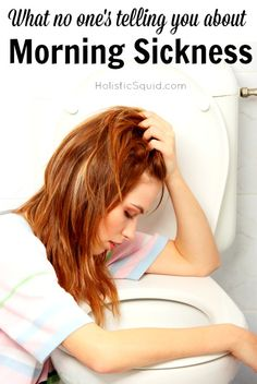 Can You Really Prevent Morning Sickness? Find out at Holistic Squid: http://holisticsquid.com/can-you-really-prevent-morning-sickness/
