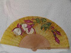 Hand Fan, Fans, Home Appliances, Beautiful, Painted Fan, Hand Fans, House Appliances, Appliances