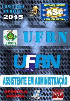 Apostila Concurso UFRN Assistente em Administracao 2015