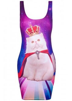 CAT KING GALAXY BODYCON DRESS CODE: ATT284 $44.01 (Delivery from $13.65)