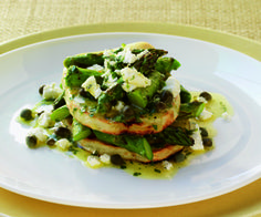 Asparagus and Potato Napoleons