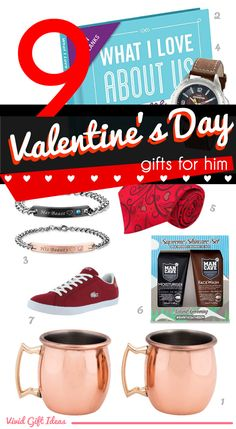 Express your love for him this Valentine's Day by getting him a gift that he will love and appreciate. Discover unique gift ideas for him now.