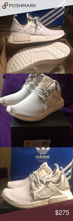 d038e352d adidas Nmd xr1 PK - triple white womens 7 Brand new NMD limited release