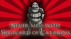 Never mess with Siegward of Catarina - Dark Souls 3 Dark Souls 3, News Channels, Discord, Never, Spiderman, Superhero, Wallpaper, Spider Man, Wall Papers