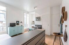 miniature Rénovation complète et décoration d'un studio au coeur de Paris, Paris, Nancy Geernaert - architecte d'intérieur