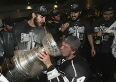 Drinking from Lord Stanley's Cup #lakings
