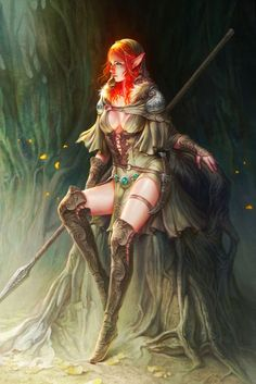Must-see Fantasy Art by Young-june Choi .... This would make an awesome Cosplay outfit.