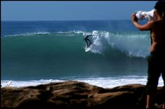 surfing at the beach of Agadir......ok if we have to....