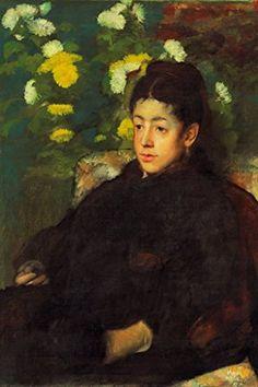 Mademoiselle Malo II, by Edgar Degas, 12x18-inch Paper Giclée by ArtParisienne