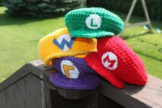 Ravelry: Mario Hat - NB to Adult Sizes pattern by Becca de Kroon C$5.00 CAD about $4.53