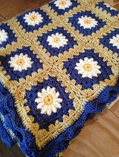 Project by Winnie41This crochet pattern / tutorial is available for free... Full post: Daisy Granny Square