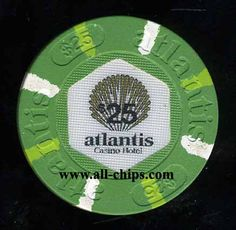 #AtlanticCityCasinoChip of the day is a $25 Atlantis 1st issue you can get here http://www.all-chips.com/ChipDetail.php?ChipID=17810 #CasinoChip #Atlantis