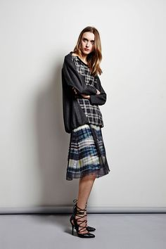 tartan - Style.com Editors Weigh In on Pre-Fall 2014 Trends