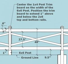 Crossbuck-Fence-2- how to build
