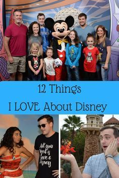 I recently wrote 12 things I hate about Disney, so I decided to share 12 things I LOVE about Walt Disney World