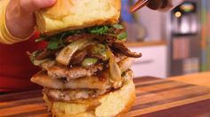 Brothers Green: EATS! | Bao Bun Burger Recipe - News - MTV