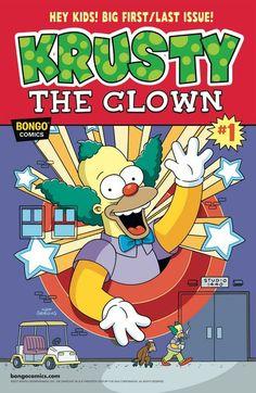 Simpsons One-Shot Wonders – Krusty n°1 (19.04.2017) #krusty #simpsons #simpsonscomics #comics #bongo