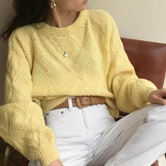 Vintage butter hand knitted relaxed pullover, favorite drape, relaxed xs-m $42 + shipping SOLD