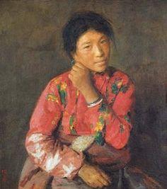 TIBETAN, Xu Weixin (徐唯辛; b1958, Urumqi, Xinijiang Province, China)