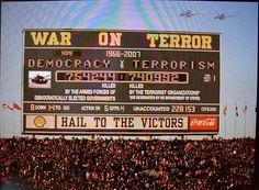 War on terror. Anti Consumerism, Word Up, For Everyone, Periodic Table, Ice Cream, War, Organization, Happy, No Churn Ice Cream