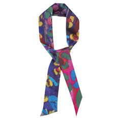 Spring is Here - Blue scarf
