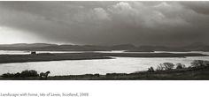 Kristoffer Albrecht, Landscape with Horse, Isle of Lewis, Scotland, 2008