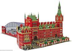 Gigantic Lego St. Pancras Station is 120,000 bricks of brilliant!