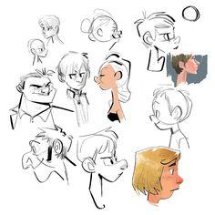 Study  by Hyun Song We, character desginer —   #characterdesign #drawing #sketch #illust #캐릭터디자인