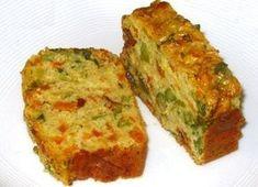 Bizcocho de verduras Veggie Recipes, Vegetarian Recipes, Cooking Recipes, Quiches, Healthy Snaks, Salty Foods, Cooking Light, Healthy Breakfast Recipes, I Love Food