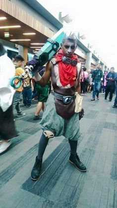Ekko League Of Legends Cosplay