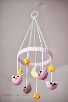 Amigurumi Owl Mobile - FREE Crochet Pattern / Tutorial